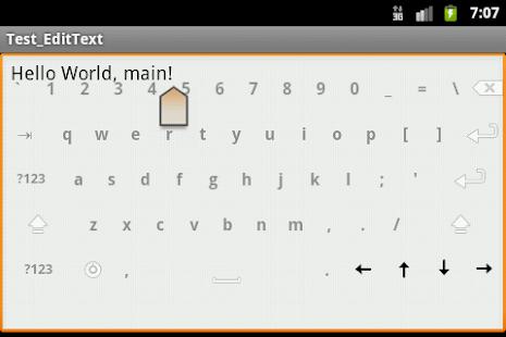 Transparent Keyboard - screenshot thumbnail