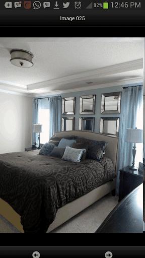 ألوان غرف النوم الحديثة