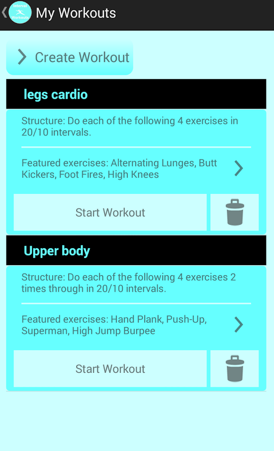HIIT Workouts and Tabata Timer- screenshot
