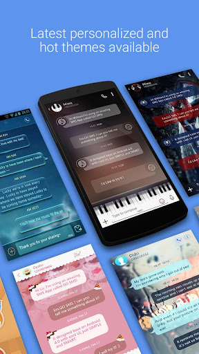 GO短信加强版 - 免費簡訊 圖片分享