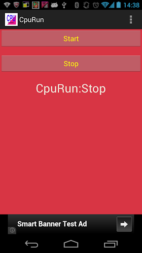 CPU負荷試験ツール CpuRun