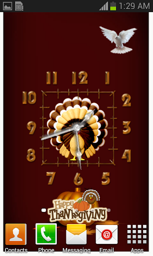 Thanks Giving Clocks