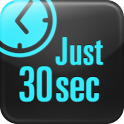 Just 30 seconds logo
