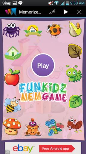 Memorize Kids Game
