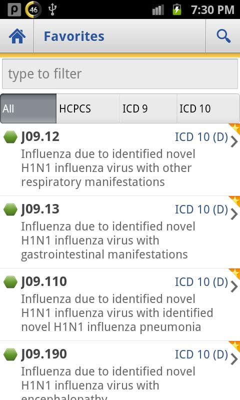 ICD Lite 2012- screenshot