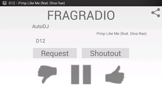FragRadio- screenshot thumbnail