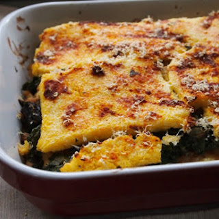 /RECIPE/ Layered Polenta Casserole Recipe