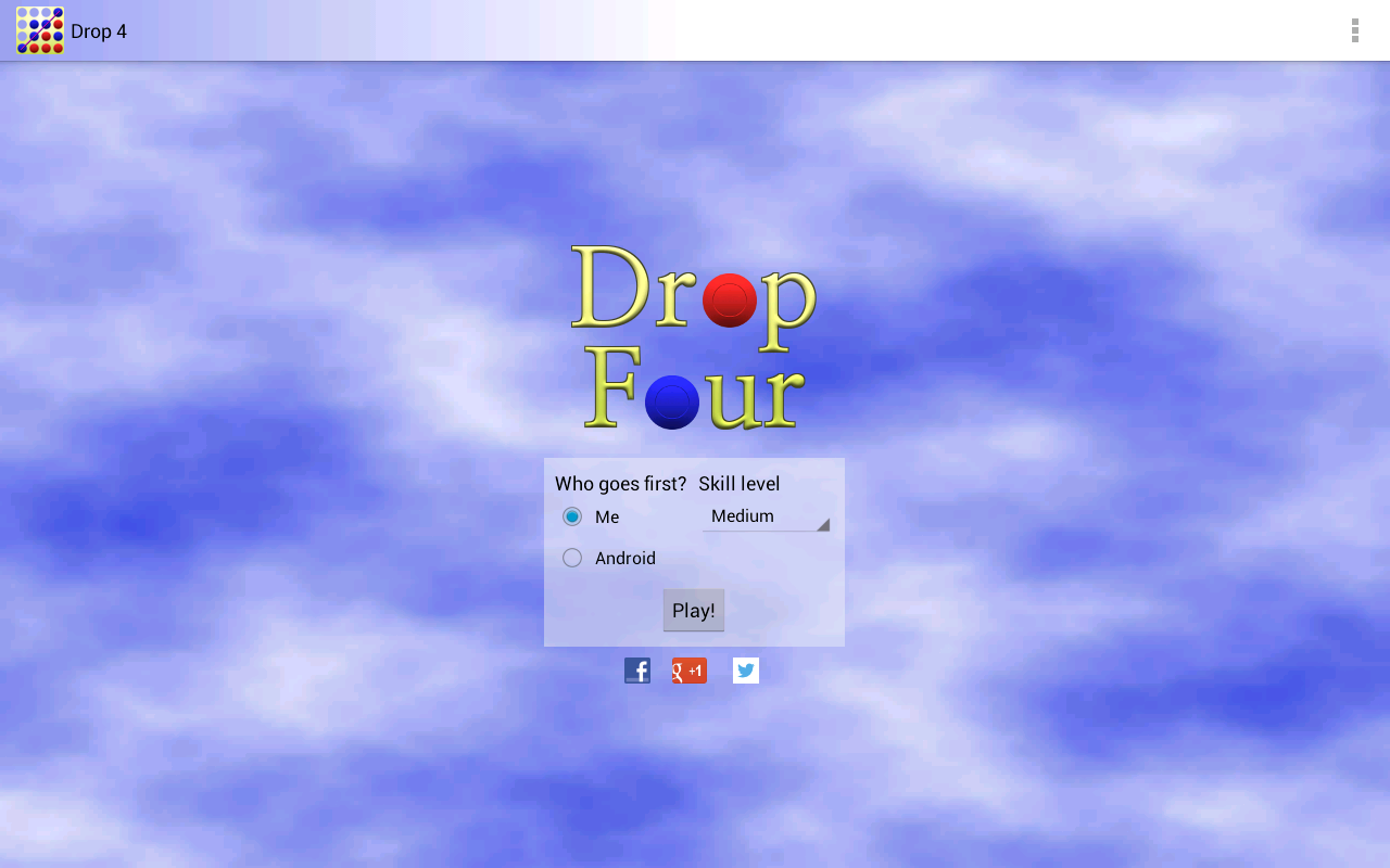 Drop 4- screenshot
