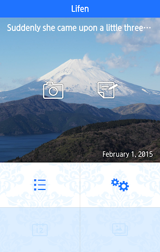 Lifen ‐ app to record memories