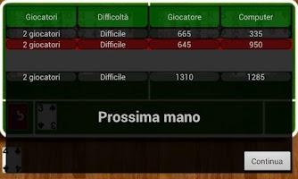 Screenshot of Pocket Burraco