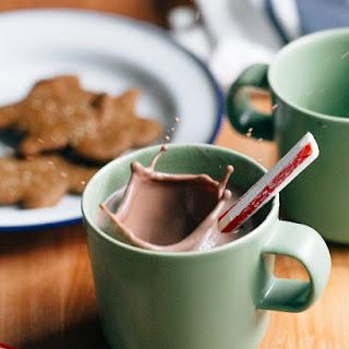 Homemade Hot Cocoa.