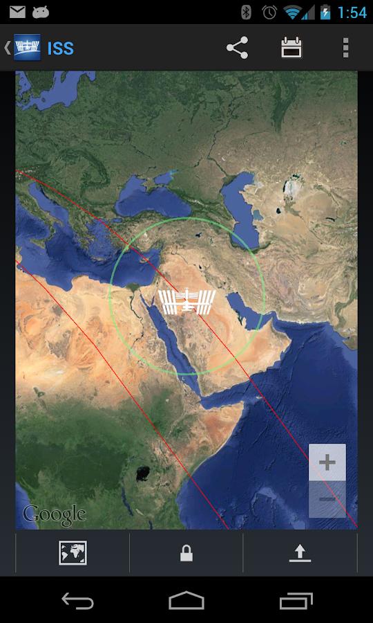 ISS Detector Pro - screenshot