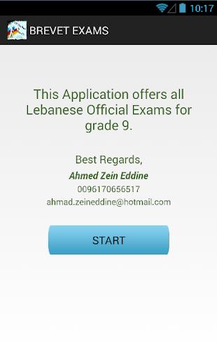 Lebanese Brevet Exams