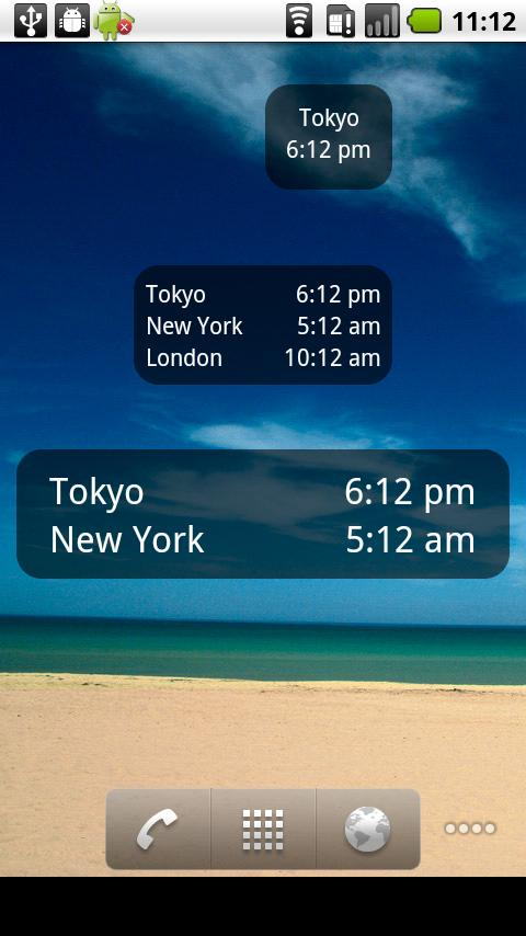World Clock & Widget - screenshot