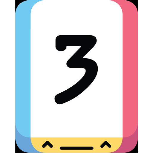 Threes! 解謎 App LOGO-硬是要APP