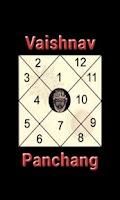 Screenshot of Vaishnav Panchang