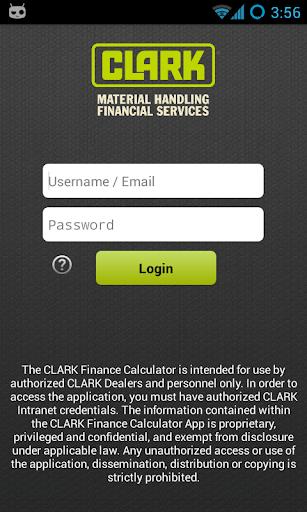 CLARK Finance Calculator