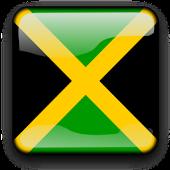 Jamaica Flag Clock Widget