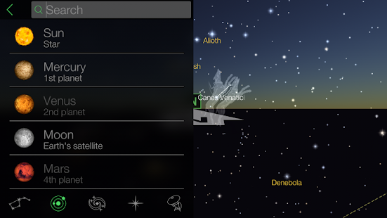 Star Walk - Astronomy Guide - screenshot thumbnail
