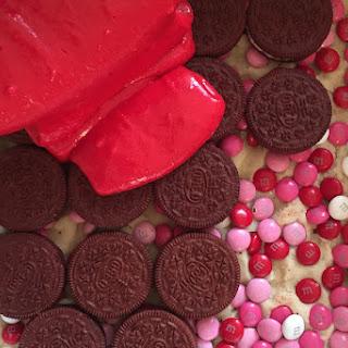 Red Velvet Slutty Brownies.