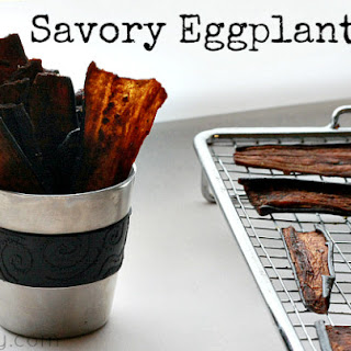 Savory Eggplant Jerky