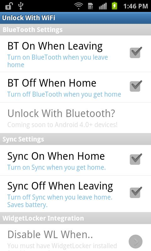 Unlock With WiFi (Trial)- screenshot