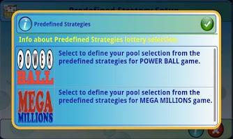 Screenshot of mLottoLuck Lotto Lottery LITE