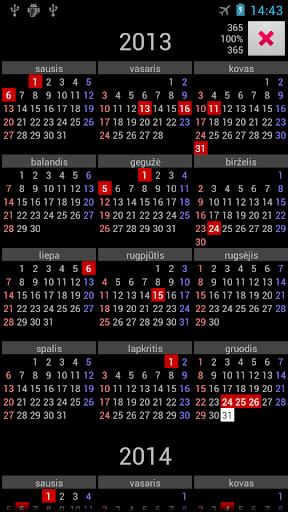 【免費工具App】LT Holidays Annual Calendar-APP點子