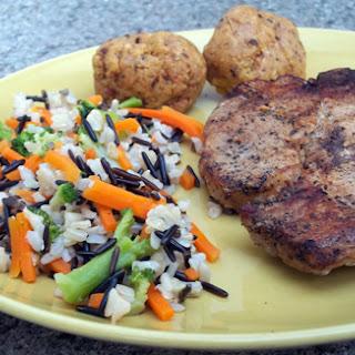 Mofongo & Fried Pork Chops.