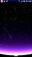 Screenshot of Shooting Stars Live Wallpaper