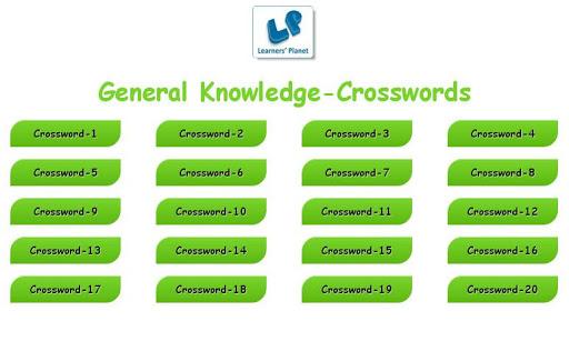 Science Crosswords-1