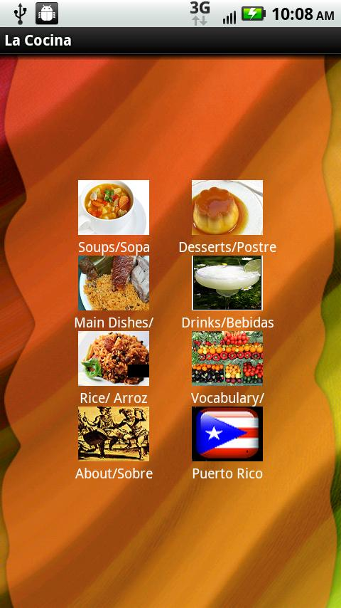 La Cocina Puerto Rican Recipes - screenshot