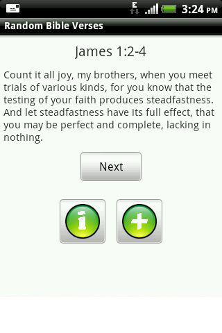 Random Bible Verses - screenshot