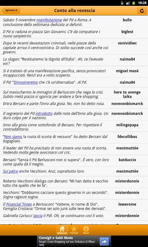 Spinoza RSS Reader- screenshot