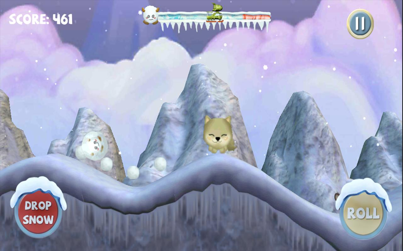 Angry Yeti- screenshot