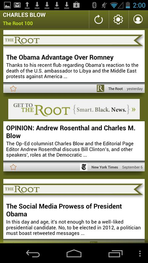 Charles Blow: The Root 100 - screenshot