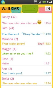 Wali SMS-Pink tenderness theme
