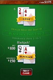 ChiliCasino Blackjack- screenshot thumbnail