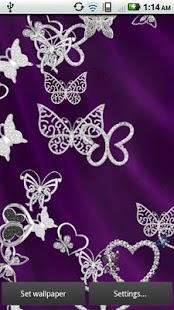Diamond Butterflies Live- screenshot thumbnail
