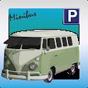 Minibus Conductor Aparcamiento icon