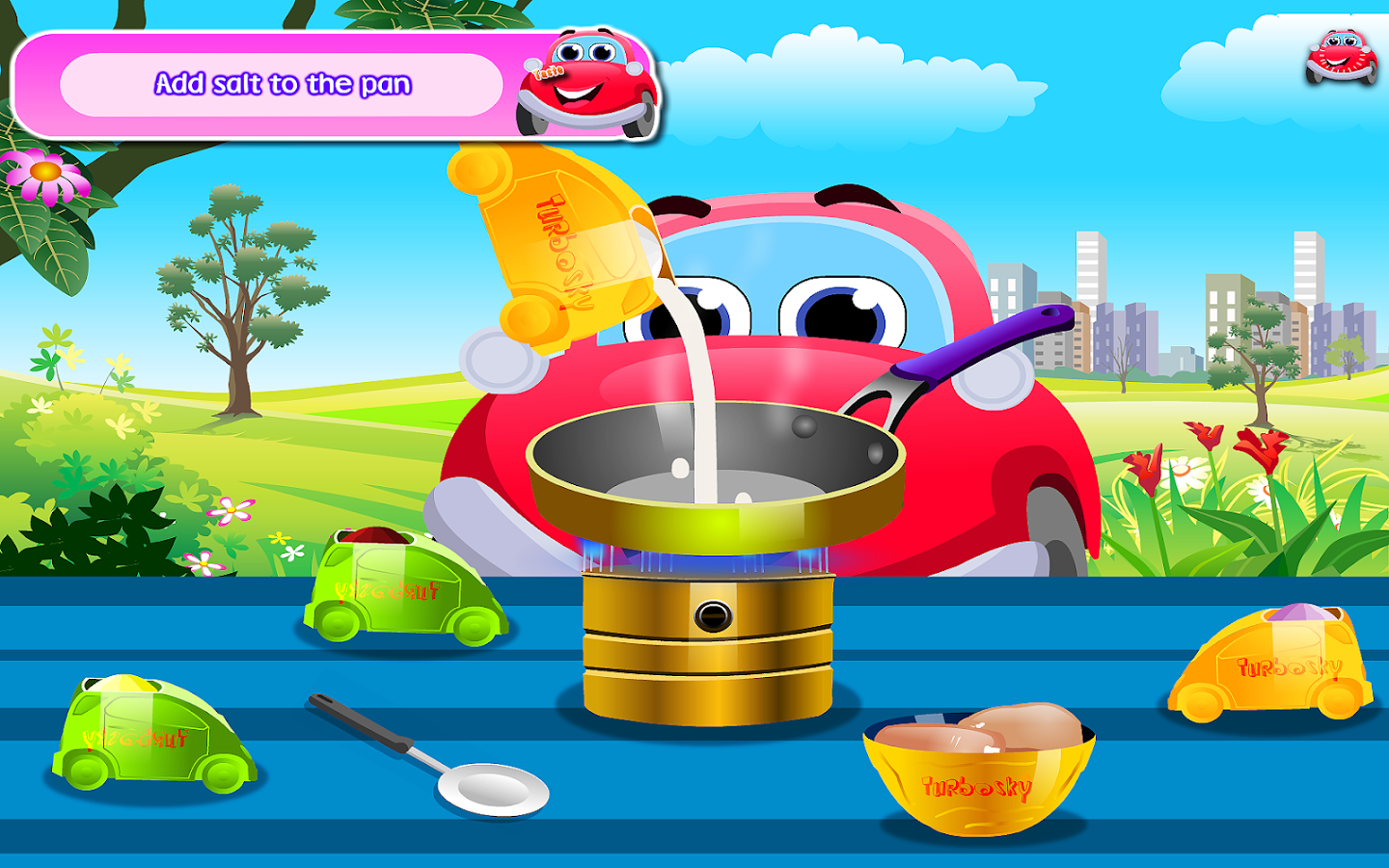 Cooking Chicken Lazone- screenshot