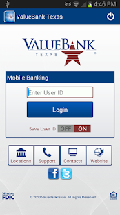 ValueBank TX – Mobile Banking - screenshot thumbnail