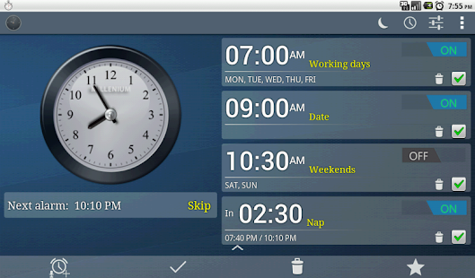 Alarm Clock, Stopwatch & Timer - screenshot thumbnail