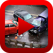 Hot Car Crash Video