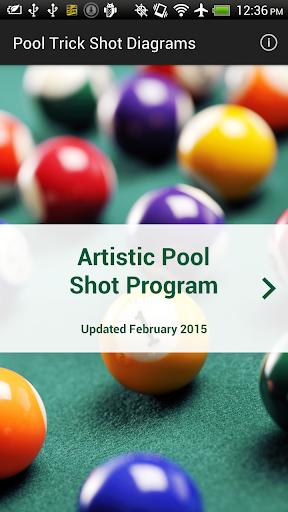 Pool Trick Shot Diagrams