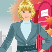 London Girl Dress Up Game