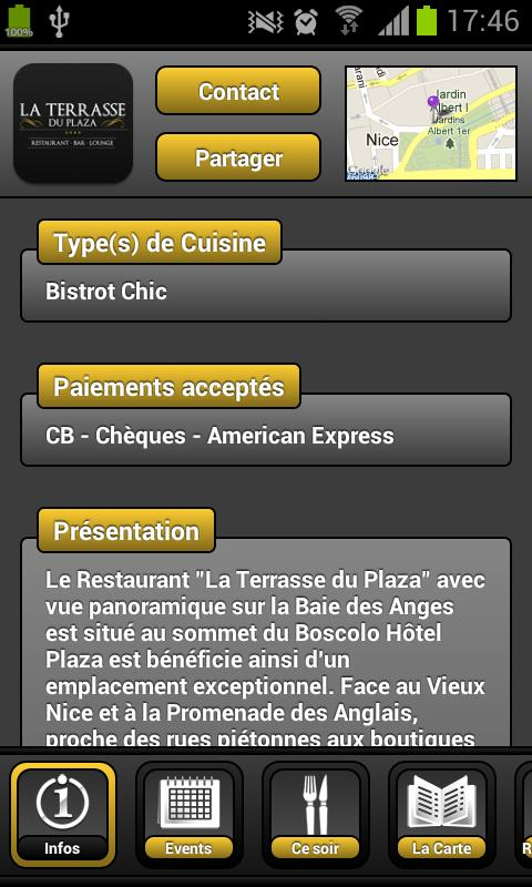 La Terrasse du Plaza- screenshot