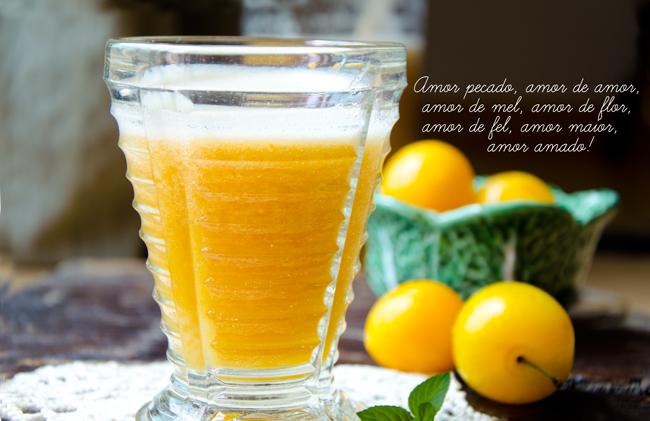Plum and Mint Nectar Recipe