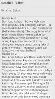 Screenshot of Hadits Bulughul Maram - Melayu