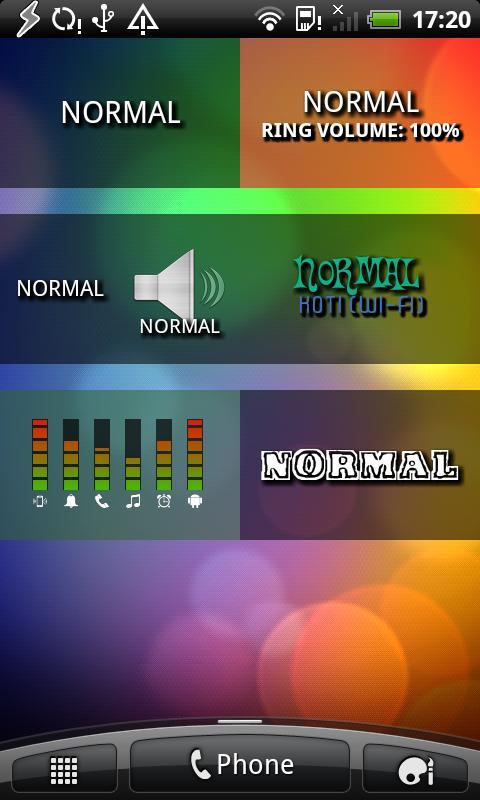Spark Audio Profiles- screenshot